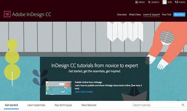 Adobe Indesign tutoriales