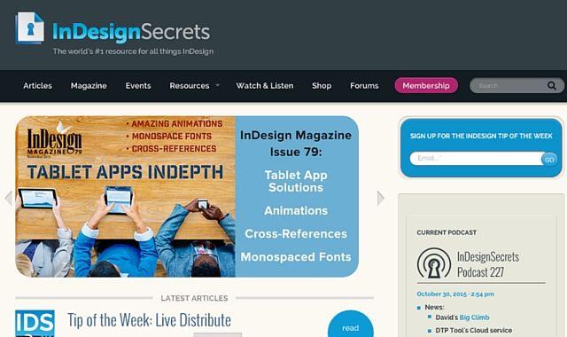 Secretos Indesign