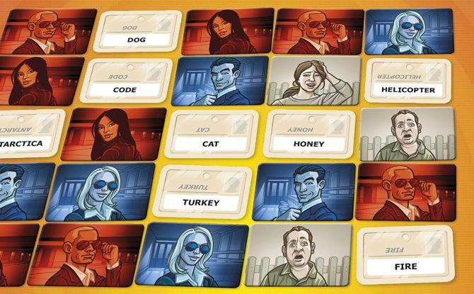 Codenames tarjetas