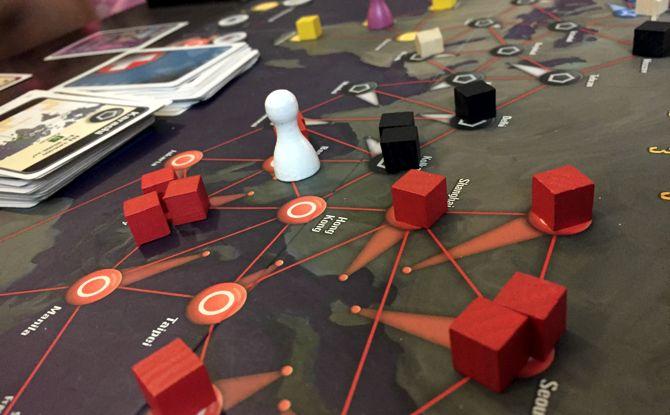 pandemia del juego de mesa