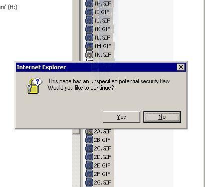Falla de seguridad no especificado