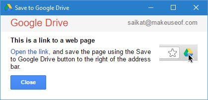 Guardar enlaces a Google Drive