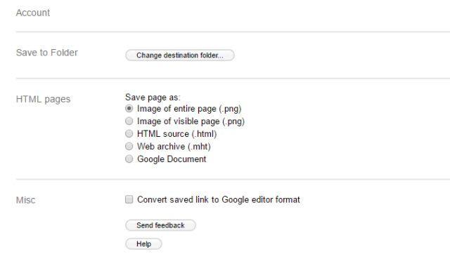 Guardar en Opciones de Google Drive