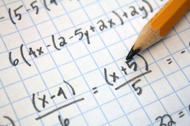 papel de gráfico Math