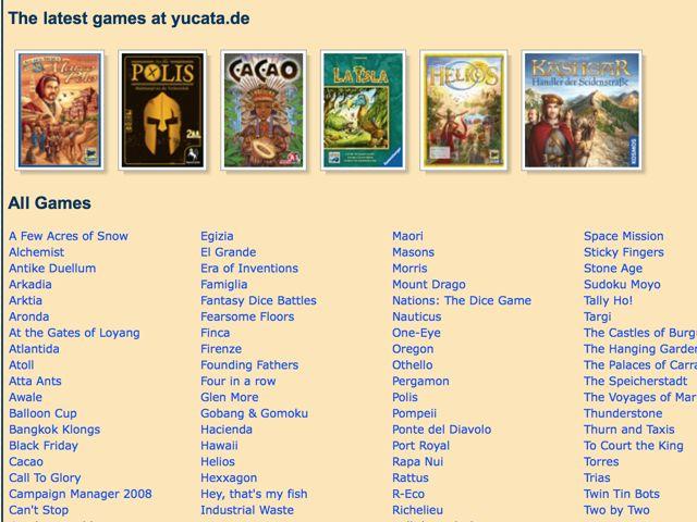 Yucata-juegos