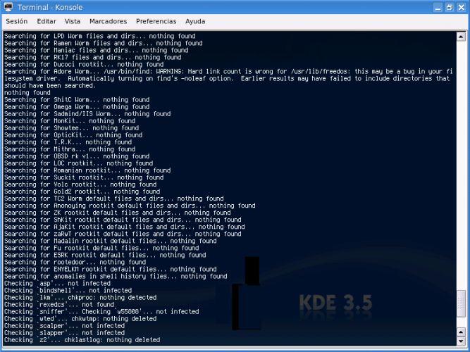 chkrootkit-Linux