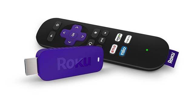 medios de streaming de dispositivo Roku-stick