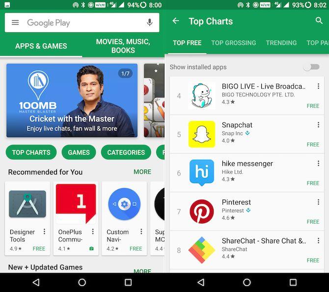 tienda de juego Google Android guía para principiantes
