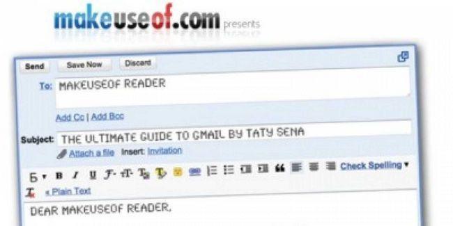 La guía del principiante a gmail