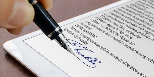 Las mejores aplicaciones para firmar, anotar y editar archivos pdf en su ipad