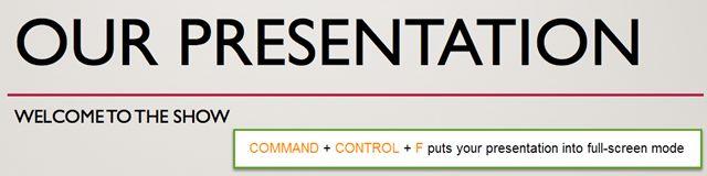 PowerPointFullScreenMode