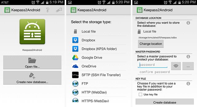 android-password-gestores-KeePass