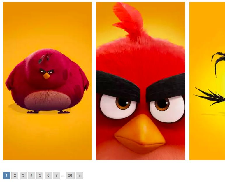 3Wallpapers Angry Birds iPhone Wallpapers