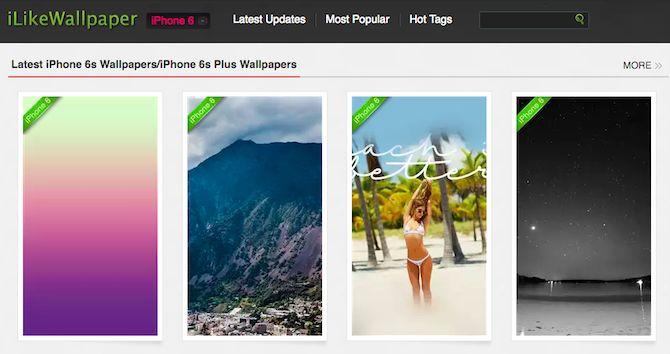 Fondos iPhone de Apple iLikeWallpaper