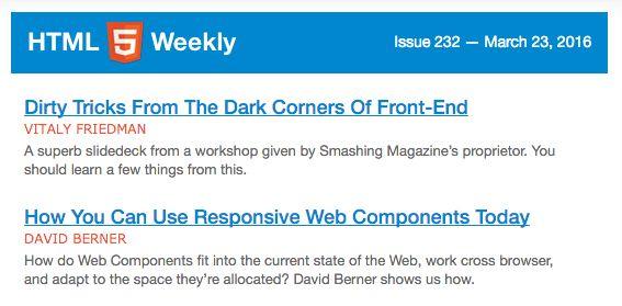 programación boletín-html5 por semana