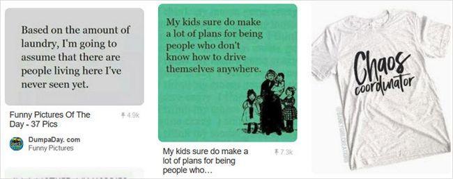 madre divertida Pinterest