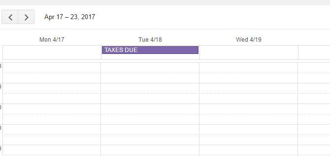 Los impuestos correspondientes
