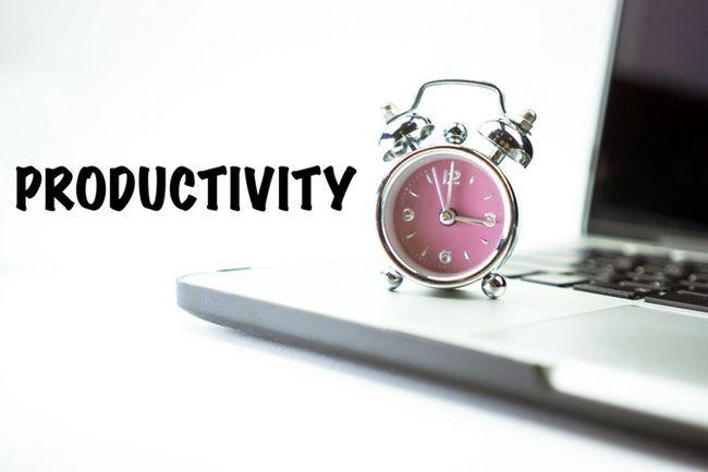 La productividad del reloj temporizador de alarma