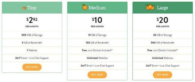 mejor compartida en la web-hosting-pequeña-naranja