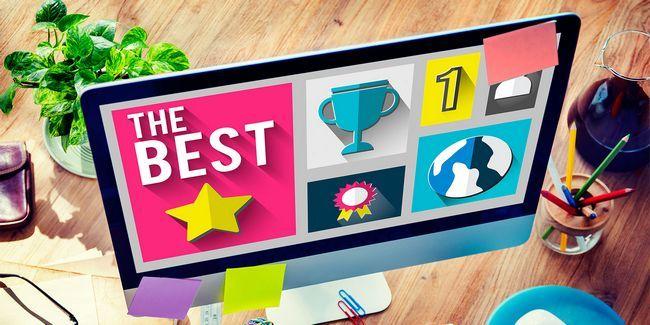 Los mejores sitios web en internet