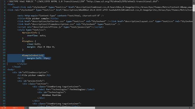 código-escritor-windows-aplicación