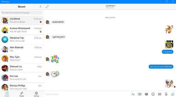 facebook-messenger-windows-aplicación