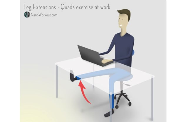 nanoworkout-de extensión de piernas