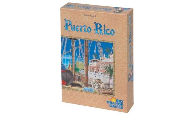tablero de juego Puerto Rico