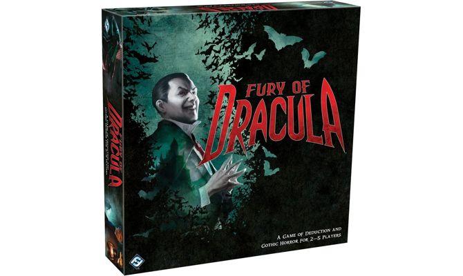 tablero de juego Furia de Drácula