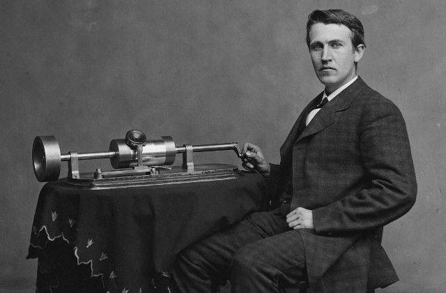 Edison-fonógrafo