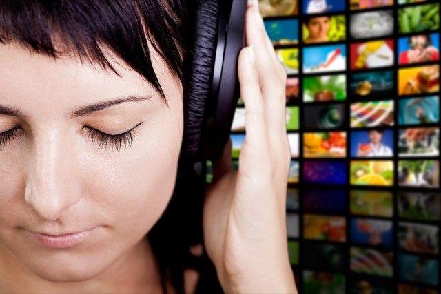 transmisión de música