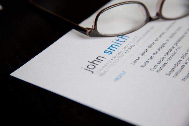 Mejor Internet Resume CV Alertas Fuerte