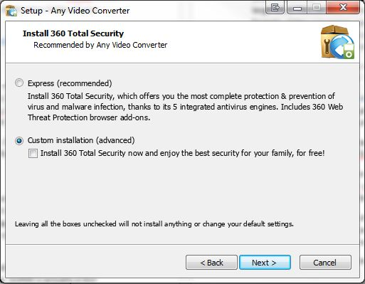AVC Install Bundle