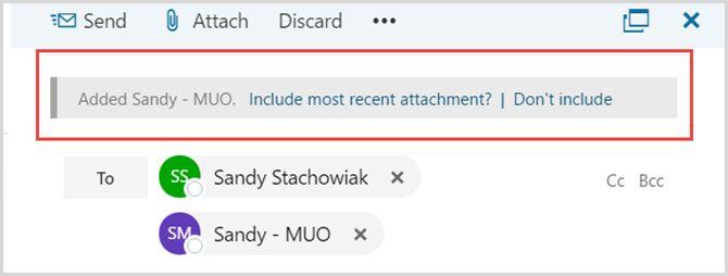 Nuevo Outlook.com - Adjuntos recientes