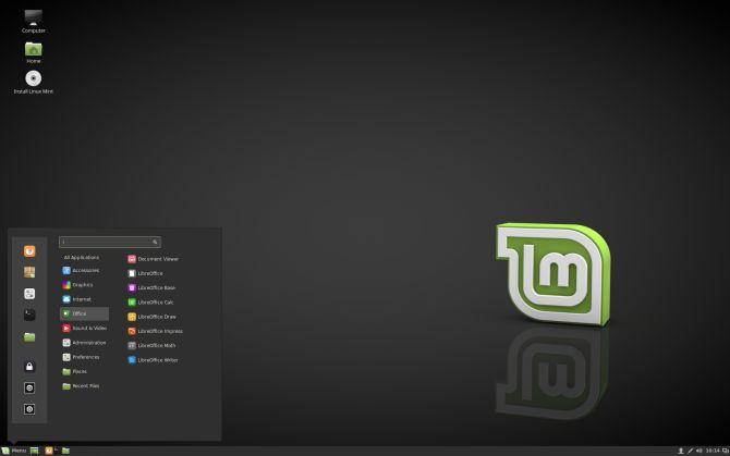 Linux Mint 18 de canela