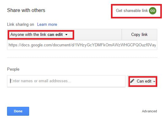google-drive-share-documento