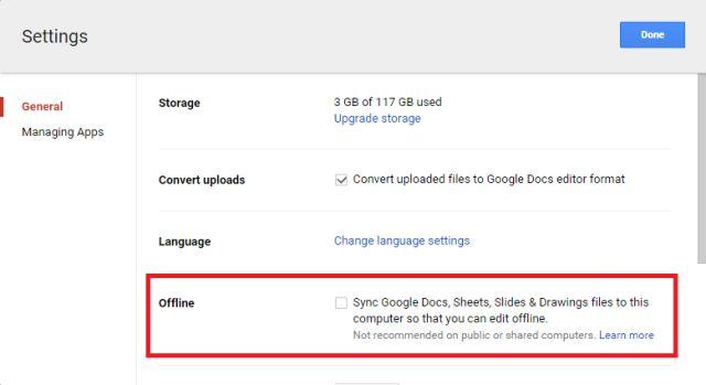 google-drive-offline-Acceso