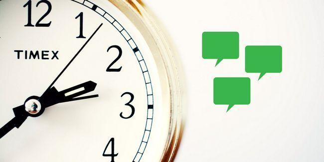 El mensaje correcto en el momento adecuado: 4 maneras de programar los mensajes con android