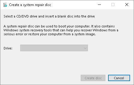 create_repair_disc