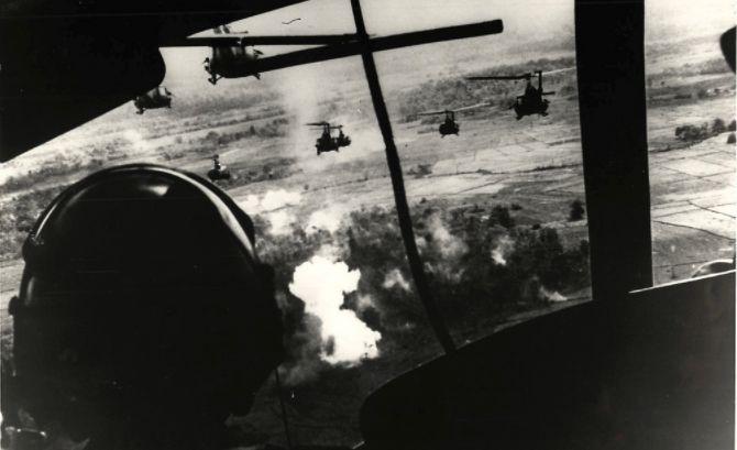 Los helicópteros viejos Guerra Historia