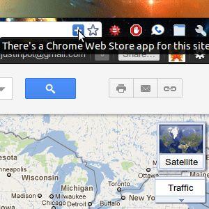 """""""Hay una aplicación web para que"""" - encontrar aplicaciones cromadas para los sitios que visita"""
