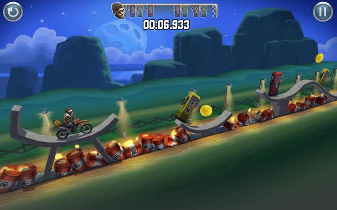iOS App Bike Baron