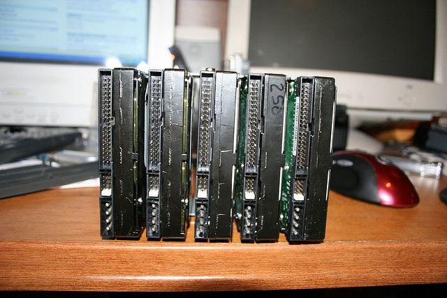 redundancia RAID-drives