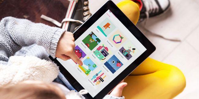 Esta aplicación ipad libre de usted o sus hijos a aprender de codificación enseña