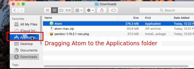 copia aplicación mac