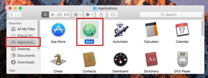 Mac App instalado