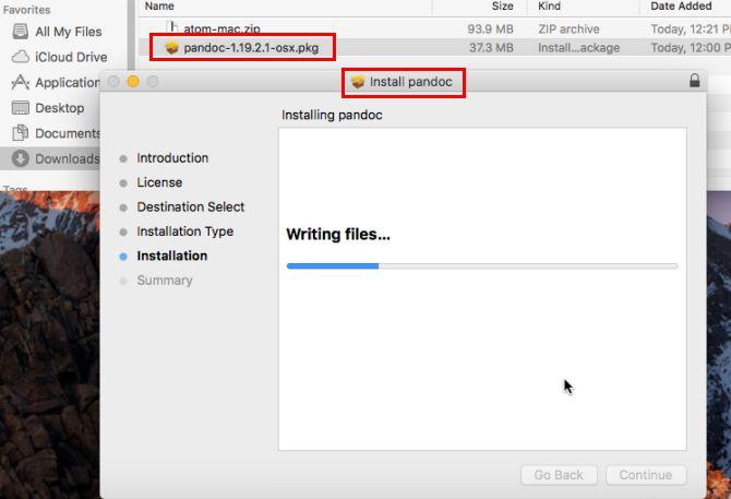 mac PKG instalar