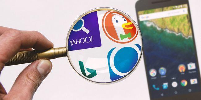 Cansado de google? 4 grandes aplicaciones de búsqueda alternativos para android