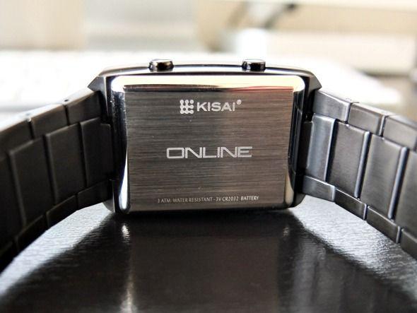 Tokyoflash Kisai opinión reloj LCD en línea