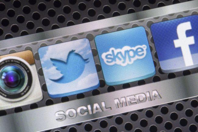 Social Media iconos de la aplicación